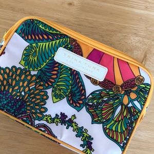 NWOT Trina Turk for Clinique cosmetic bag
